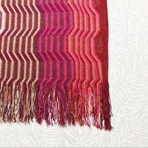 3e03a308cce5 Missoni Accessories - ▫️Missoni▫️sparkle zigzag fringe woven scarf
